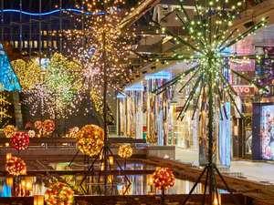 東京ドームホテル:東京ドームシティ ウィンターイルミネーション。シティ各所が写真スポットに♪
