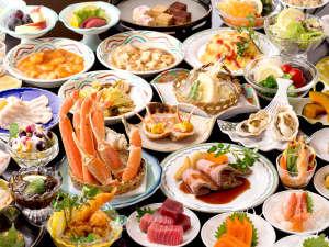 四万グランドホテル:12月から3月は毎年恒例の大人気企画「ずわい蟹バイキング」開催!