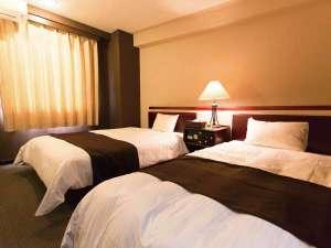ホテルエリアワン宮崎(HOTEL AREAONE):ツイン【ベッド120㎝と100㎝】