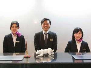 ホテルエリアワン宮崎(HOTEL AREAONE):私たちが笑顔でお出迎え致します!