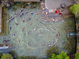 湯之助の宿 長楽園:120坪混浴大露天風呂★今年で完成110周年を迎えた歴史ある美肌温泉