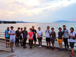 松江サンセットWALK!!詳しくは長楽園HPで検索!