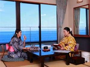 シーサイドホテル美松 大江亭:チェックイン後は気兼ねなくお部屋でのんびり♪