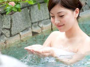 伊東ホテル聚楽(じゅらく):【美人の湯】伊東ホテル聚楽の温泉はph8.34!肌の古い角質を溶かすのでお肌ツルスベに♪