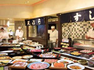 伊東ホテル聚楽(じゅらく):【旬を味わうディナーバイキング】約60種100品目が食べ放題!出来立てが食べられるバイキング★