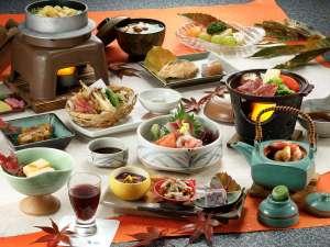 角神温泉 和みのリゾート ホテル角神:【秋の阿賀会席】一例