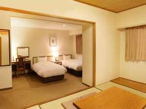サンホテル名古屋錦:最大5名様までの和洋室です。ファミリー・グループのお客様にお薦めです。