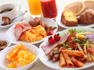 大阪新阪急ホテル:『オリンピア』の和・洋ご朝食バイキングは、メニュー豊富!(洋食イメージ)