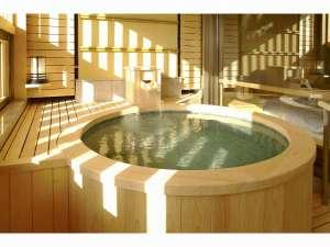 北陸 あわら温泉 美松:露天風呂付き客室 檜
