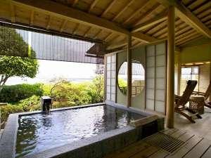 ホテル北野屋:露天風呂付き和室客室でごゆるりと