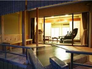 ホテル北野屋:当館でも人気の高い天橋立を望む露天風呂付客室