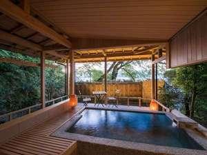 ホテル北野屋:天橋立を望む、貸切露天風呂 『玄武の湯』