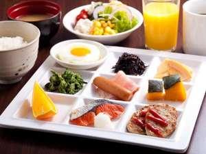 アパホテル<大阪天満>:【朝食】バイキング盛り付け例