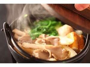 お出汁たっぷり!奥多摩産アワビタケの鍋