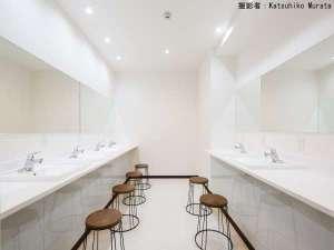 カプセルホテルCUBE広島:パウダールーム