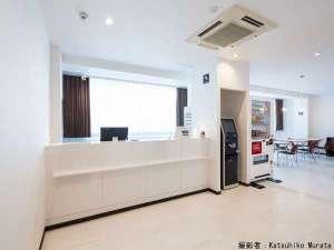 カプセルホテルCUBE広島:フロント