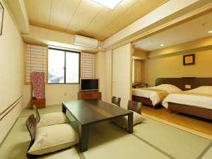 箱根湯本温泉 天成園:◆和洋室 44平米(和室6畳+洋室ツイン)