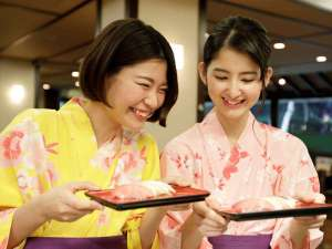 箱根湯本温泉 天成園:◆夕食バイキング◆ライブキッチンでは出来立て、握りたてをご提供!