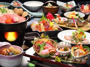高湯温泉のんびり館:夕食一例