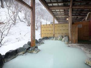 高湯温泉のんびり館:露天風呂「せせらぎの湯」