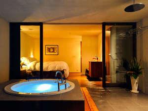 ~大人の隠れ家リゾート~ ホテルモアナコースト:■ヴィラ・ダブル■ ★H25.9 OPEN★星降るジャグジーをお愉しみ下さい