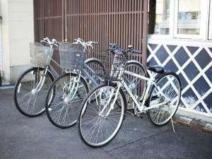 ◆無料レンタサイクル◆無料のレンタサイクル(5台)をご用意しております。