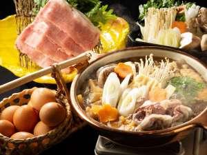弥彦温泉 四季の宿 みのや:村上牛肉すき焼きとあわびの奉書焼き★「茜の宴」