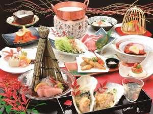 宮島コーラルホテル:28年★冬の会席★ふんだんに幸の物を使ったとても美味しい会席です♪