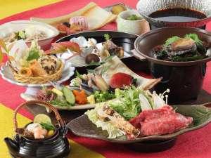 【松茸会席】秋田産あわびをジュッと焼いて、横手黒毛和牛はとろける旨さ