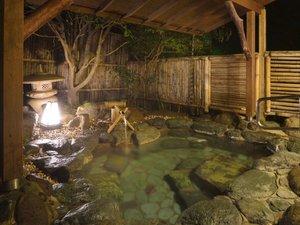 湯ケ島たつた 露天風呂