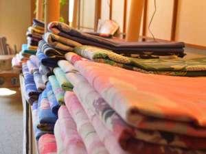 30種以上のおしゃれ浴衣。プランの中には、無料貸し出しプランも!