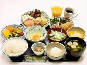 ホテル・アルファ-ワン秋田:ご朝食バイキング