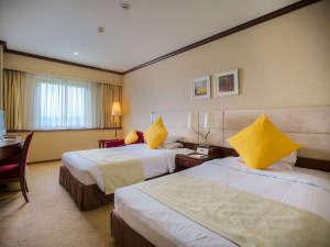 岡山国際ホテル:スタンダードツインルーム 24㎡ 禁煙