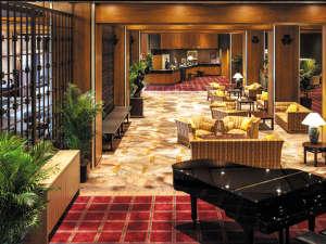 岡山国際ホテル:広々としたロビー