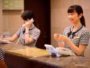 ホテルエース盛岡:フロントカウンター