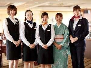 ホテル東日本盛岡:女性スタッフがお出迎え