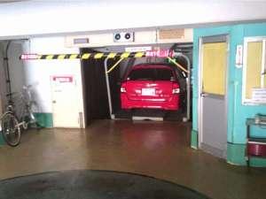 ビジネスホテル瓦町:立体駐車場※大きさ制限あり