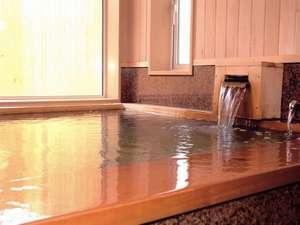 野付湯元うたせ屋:なめらかなお湯は、体を芯から温めてくれる