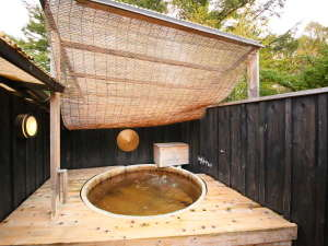 岩魚茶舎 (いわなぢゃや):貸し切り露天風呂