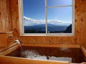 アクアペンション マリンヴィラ:*檜風呂/全室檜風呂付です。