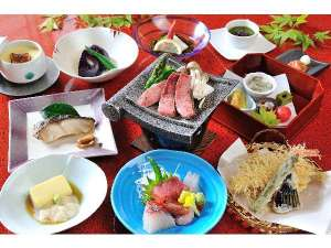 夏の会席料理(スタンダード御夕食)