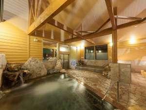 神の宮温泉 かわら亭:大浴場 女性側 ジェット