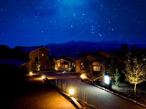 南阿蘇夢しずく温泉 別邸 蘇庵:阿蘇の満天の星の下の外観