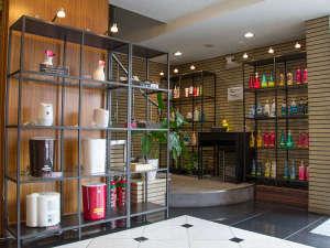 岡山スクエアホテル:無料でシャンプーなどをお選びいただけるシャンプーバーや加湿器などの無料貸し出しも行っております。