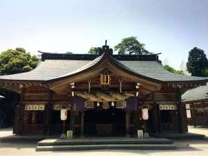 【 八重垣神社 】「良縁の神様」が祀られている神社。『縁占い』がおススメ♪当館から車で15分