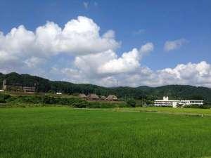 金沢湯涌ゲストハウス:湯涌(ゲストハウス周辺)田園風景。A rural landscape around the guest house.