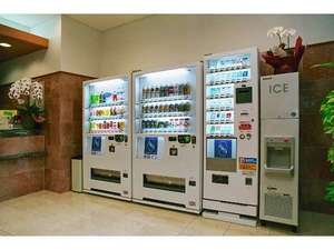 東横イン仙台西口広瀬通:自動販売機、製氷機