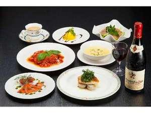 ホテルオークフォレスト:洋食コースA (一例)
