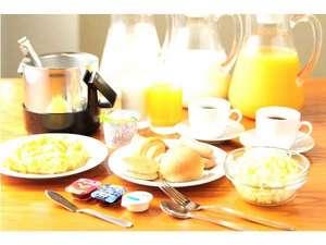 軽朝食は無料