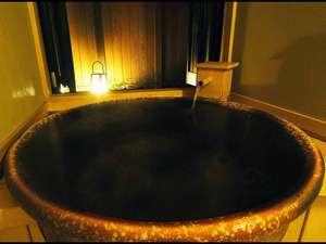 ホテル ふじ:特別室 桃生 陶器風呂